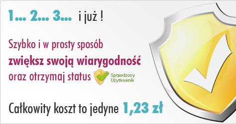 sprawdzony użytkownik Wynajmownia.pl